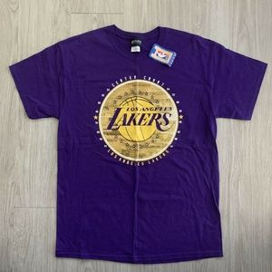 NBA LA Lakers Mens Tshirt NWT Short Sleeve Tee